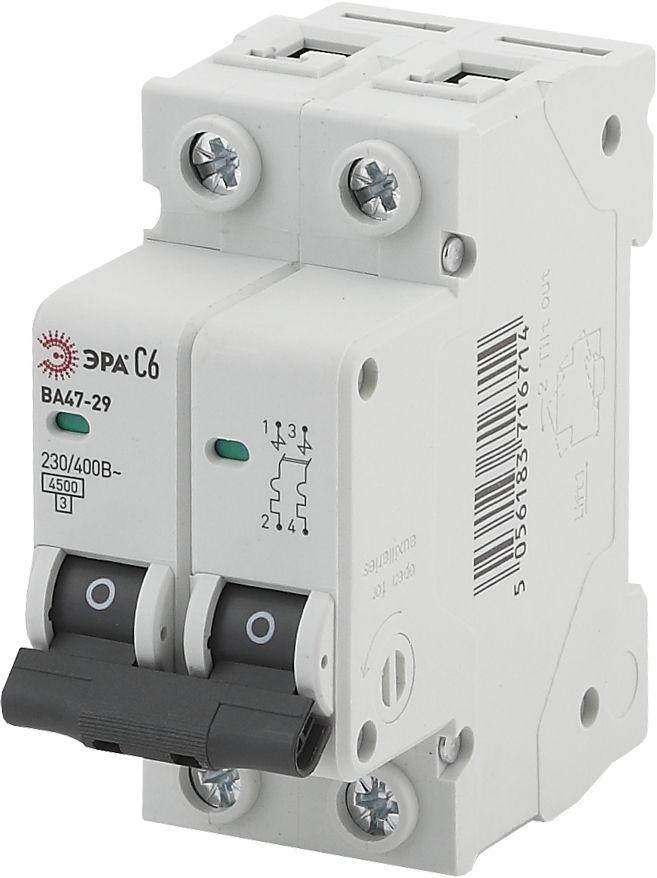 Автоматический выключатель ЭРА ВА47-29 NO-902-110