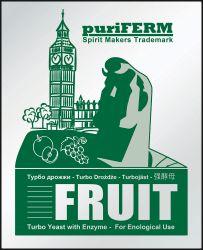 Турбо дрожжи Puriferm Fruit Turbo, 50 гр