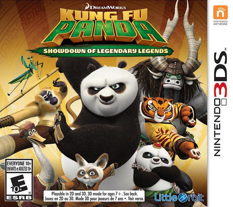 Игра Kung Fu Panda Showdown of Legendary Legends (3DS)