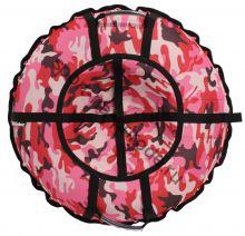Тюбинг Hubster Люкс Pro Камуфляж розовый 120 см