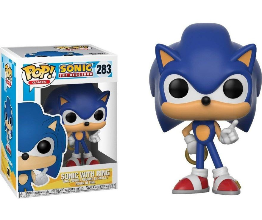 Фигурка Funko POP! Vinyl: Games: Sonic: Sonic w/ Ring 20146