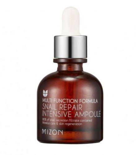 521036-1 MIZON Концентрированная улиточная сыворотка для лица Snail Repair Intensive Ampoule