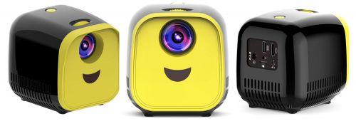 Портативный детский проектор-кубик LED Projector L1