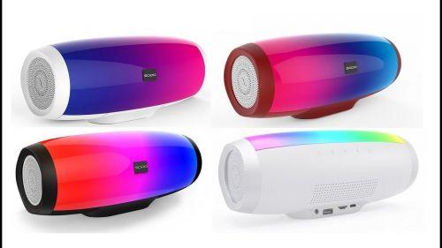 Колонка Bluetooth портативная с подсветкой SODO L1 life