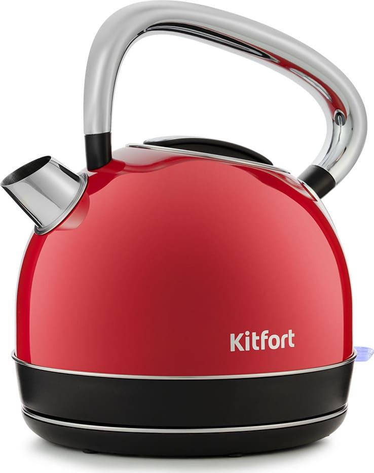 Чайник KitFort KT-696-1 красный