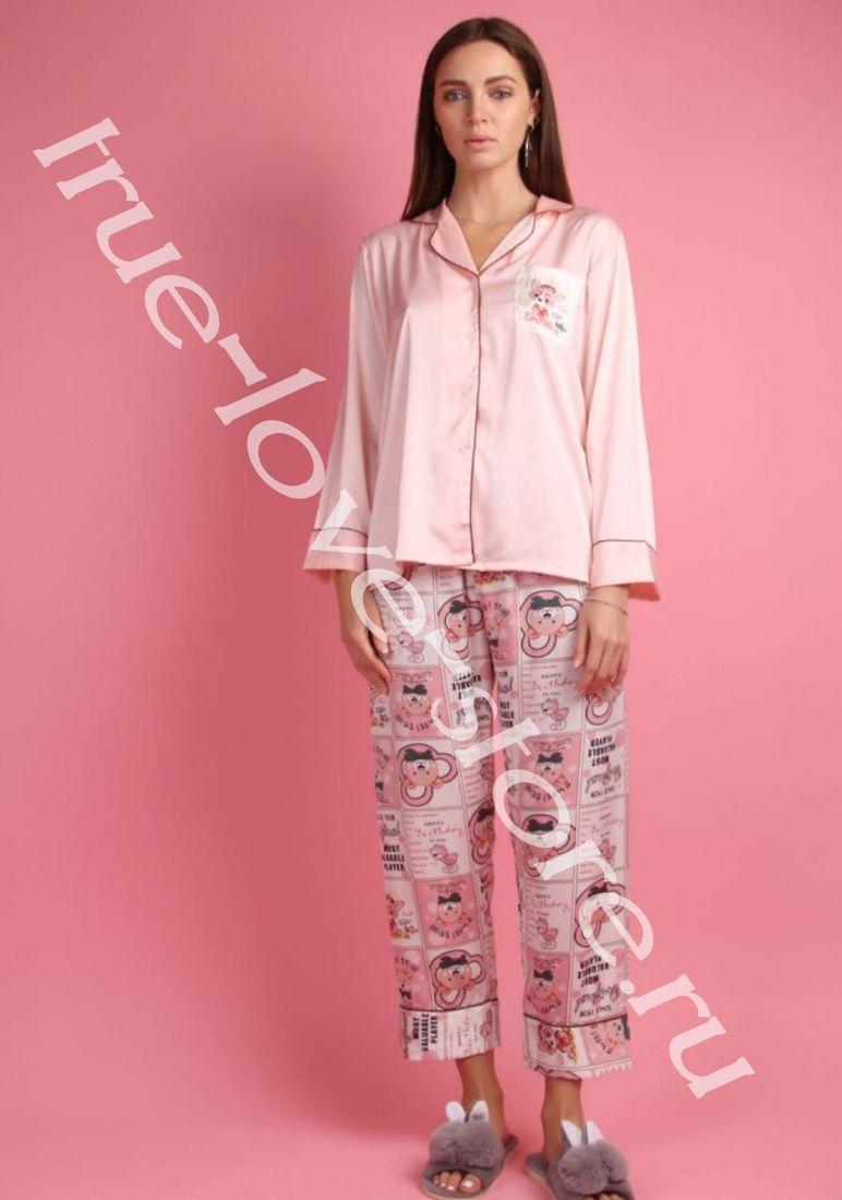5023-1- Цена за 2 шт, Пижама двойка   (L,XL)