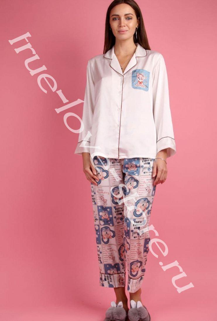 5023-2- Цена за 2 шт, Пижама двойка   (L,XL)