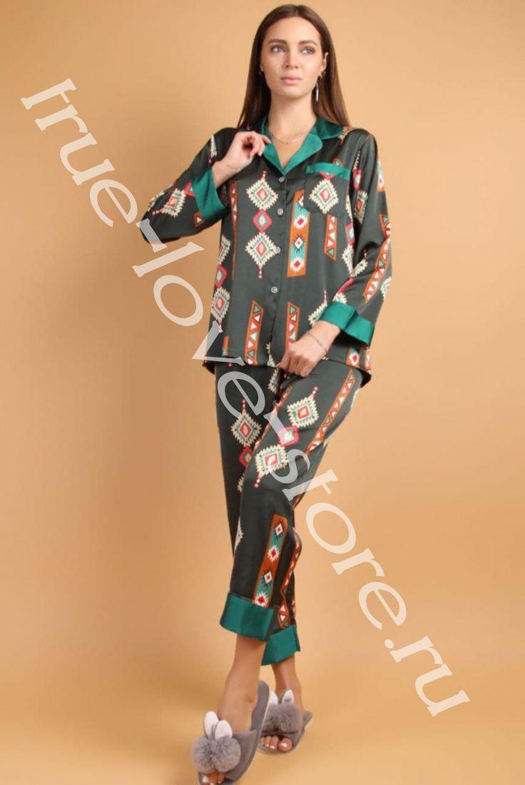 5023-3- Цена за 2 шт, Пижама двойка   (L,XL)