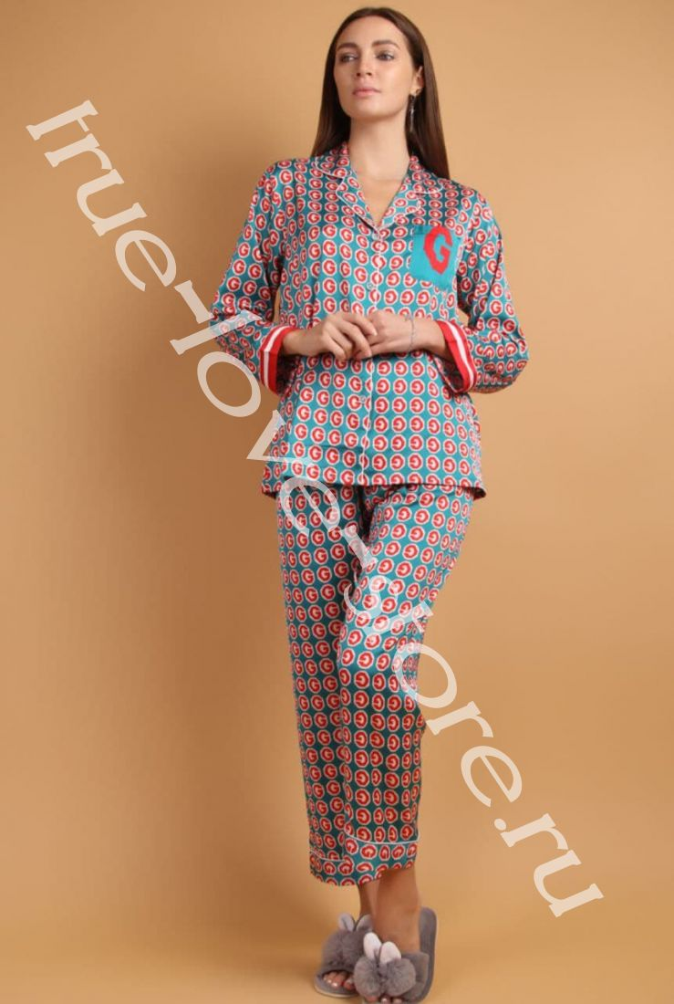 5023-5- Цена за 2 шт, Пижама двойка   (L,XL)