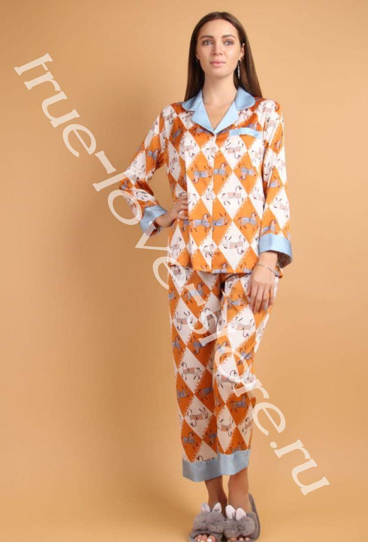 5023-9- Цена за 2 шт, Пижама двойка   (L,XL)