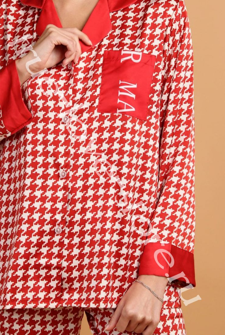 5023-10- Цена за 2 шт, Пижама двойка   (L,XL)