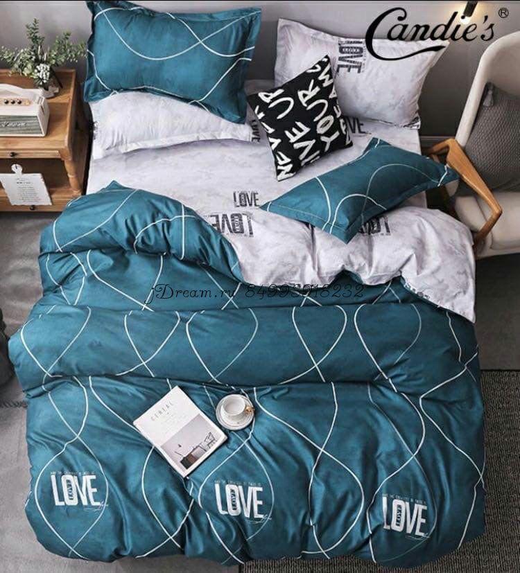 """Комплект постельного белья на резинке Candi`s """"Ocean love"""""""