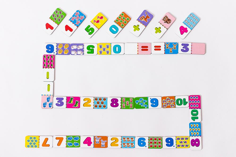 Детское домино Цифры
