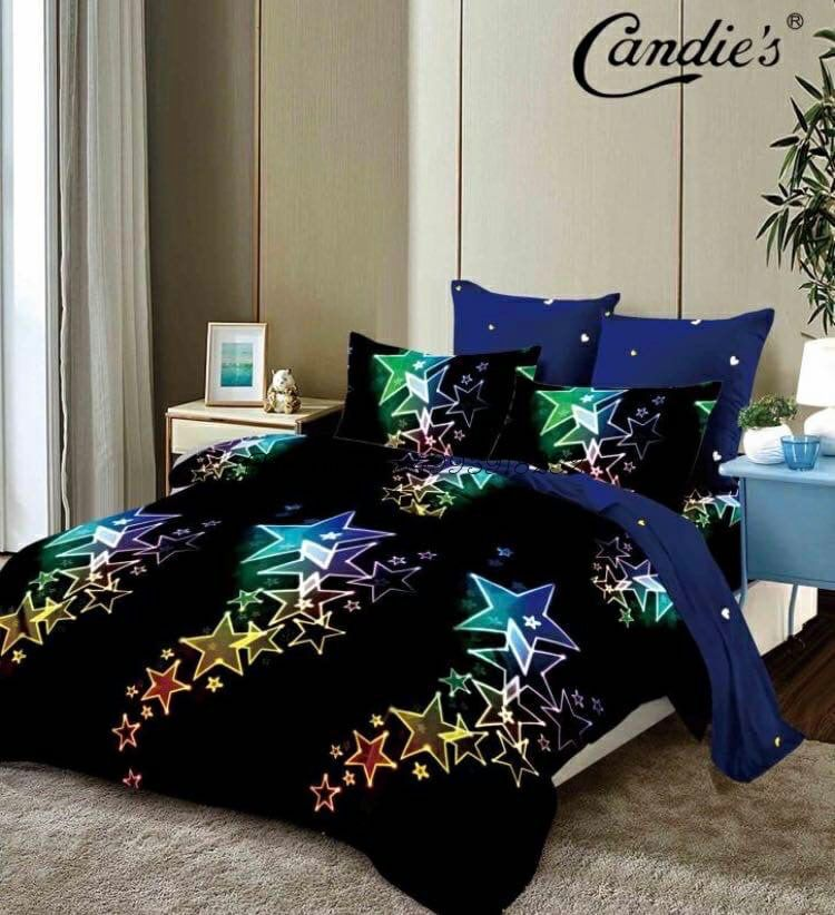 """Комплект постельного белья на резинке Candi`s """"Stars"""""""