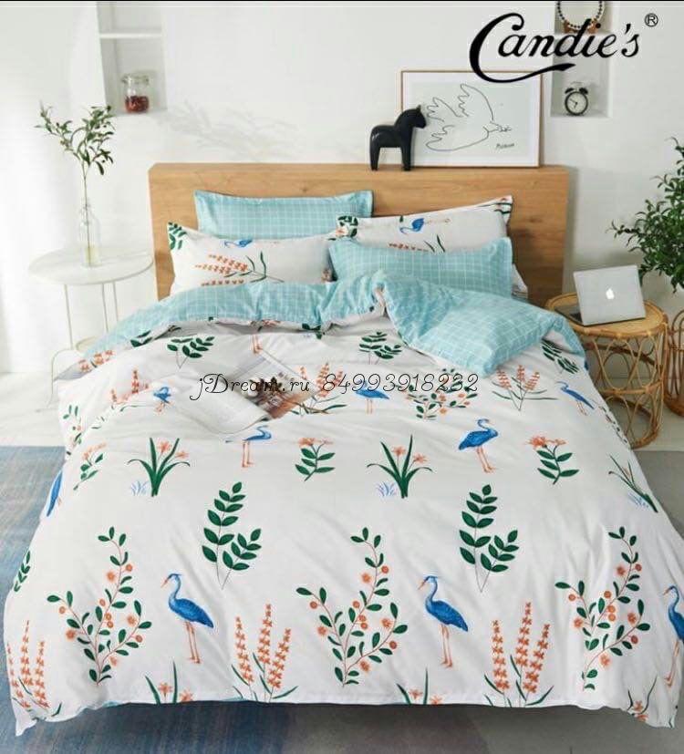 """Комплект постельного белья на резинке Candi`s """"Nature"""""""