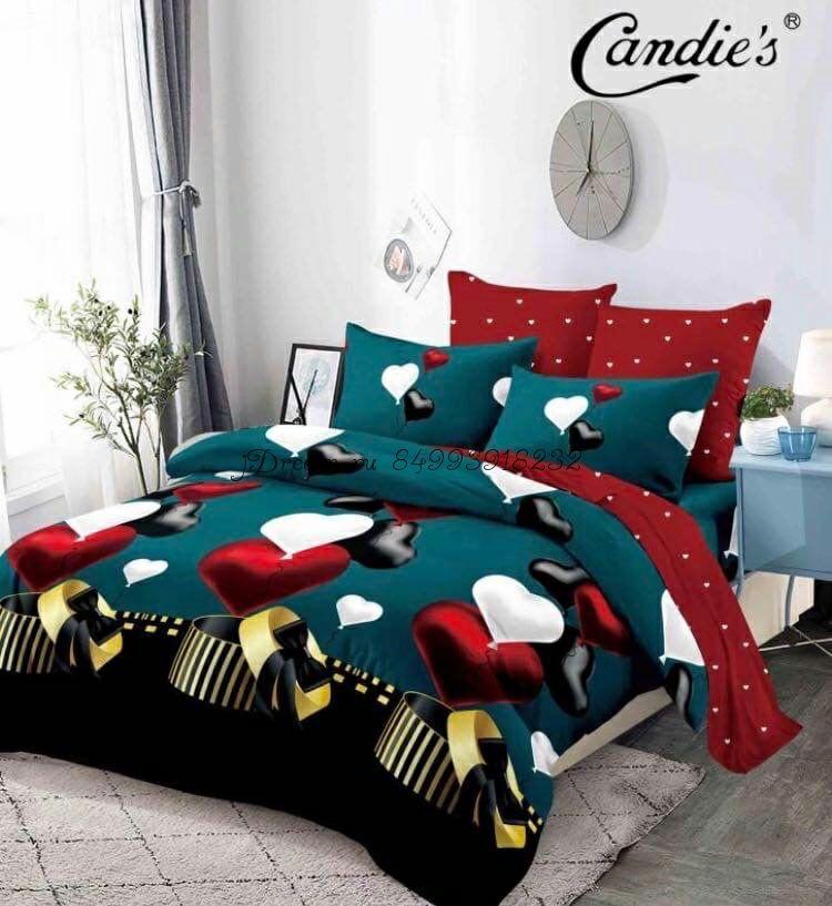 """Комплект постельного белья на резинке Candi`s """"Greenery"""""""