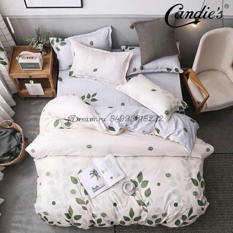 """Комплект постельного белья на резинке Candi`s """"Leaf"""""""
