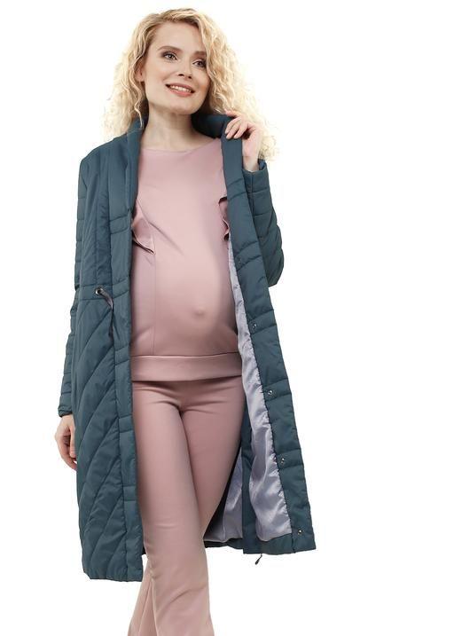 """Пальто демис. 2в1 """"Марокко"""" для беременных; цвет: атлантик"""