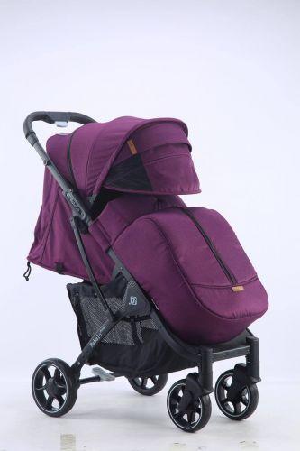 Бабало 2021, Babalo future фиолетовая на темной раме с рюкзаком