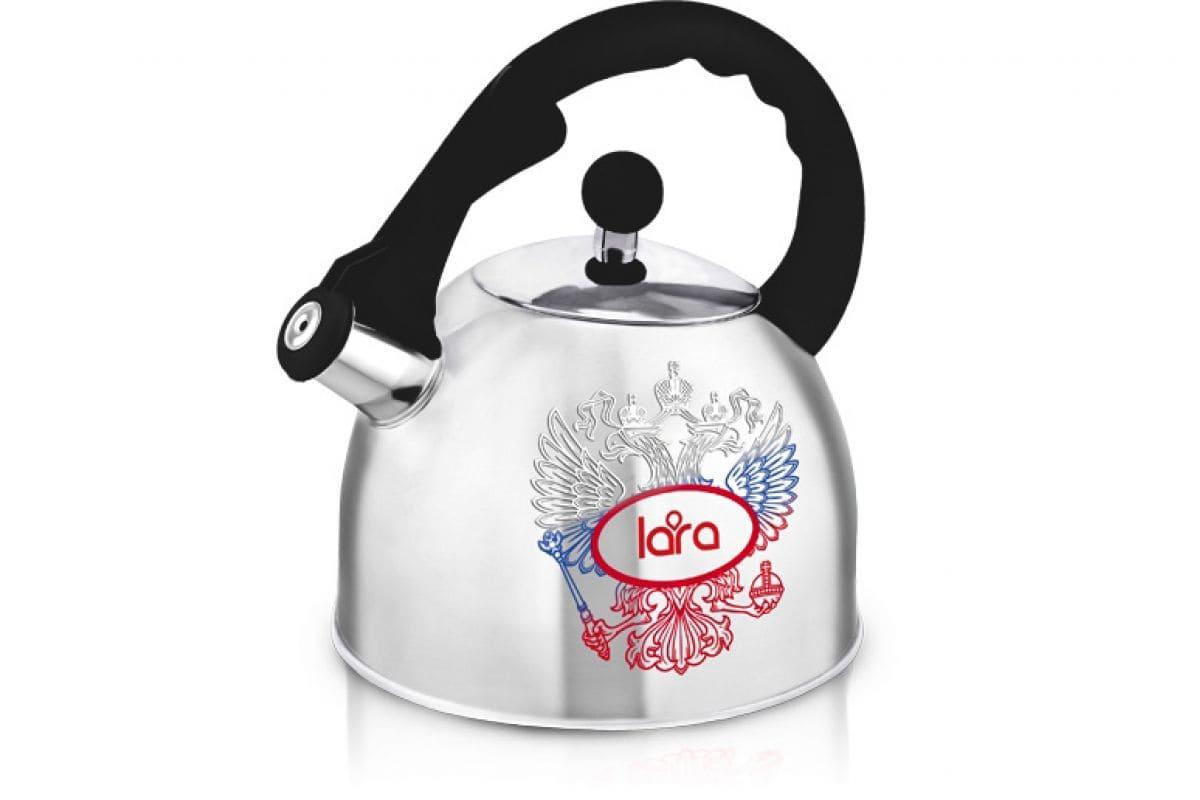 Чайник LARA LR00-63  (зеркальный) 3.0л