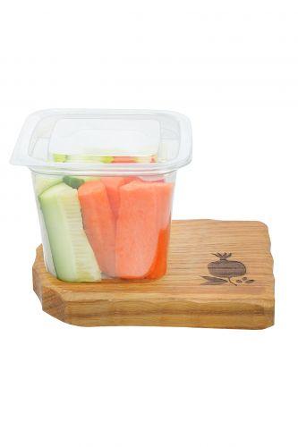 .Овощной микс морковь, сладкий перец, огурец 160г