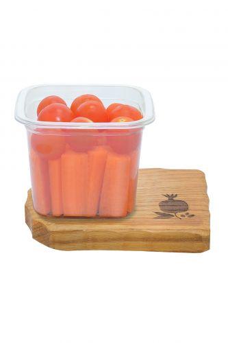 .Овощной микс морковь, черри 200г