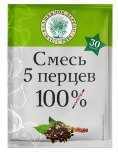 """ВД Смесь """"5 перцев"""" 30г"""
