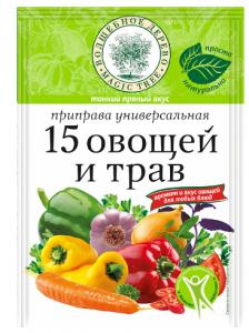 """ВД Приправа универсальная """"15 овощей и трав"""" 70г"""