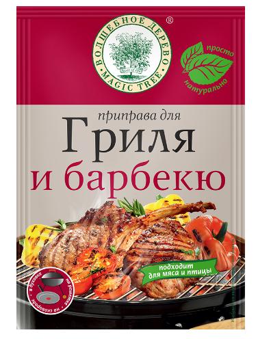 ВД Приправа для гриля и барбекю 25г