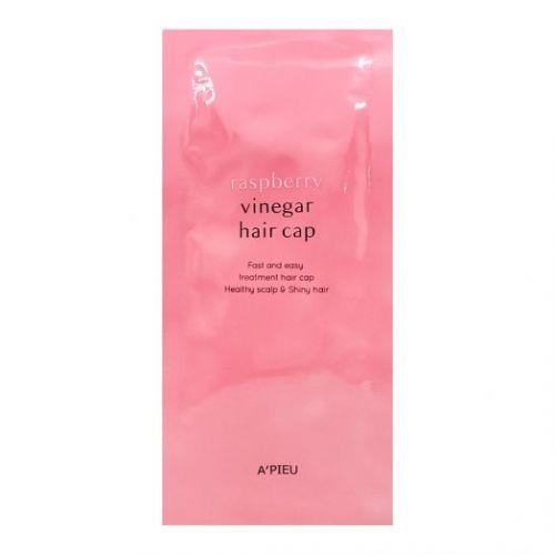 077153 A'PIEU Маска для волос с малиновым уксусом Raspberry Vinegar Hair Cap