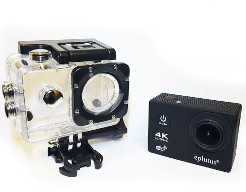 Экшн-камера и видеорегистратор Eplutus DV13 WIFI 4K Full HD
