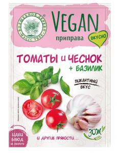 """ВД Vegan-приправа """"Томаты и Чеснок + Базилик"""" 15г"""