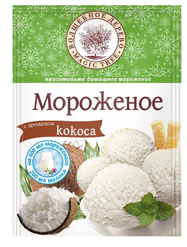 ВД Мороженое с ароматом Кокоса 70г
