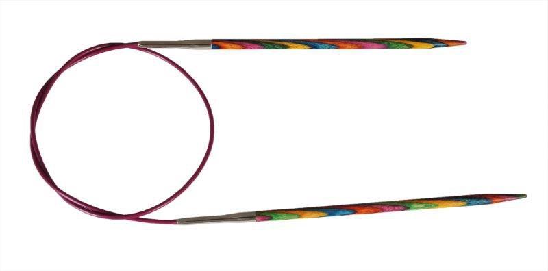 Спицы круговые Symfonie  Knit Pro многоцветные