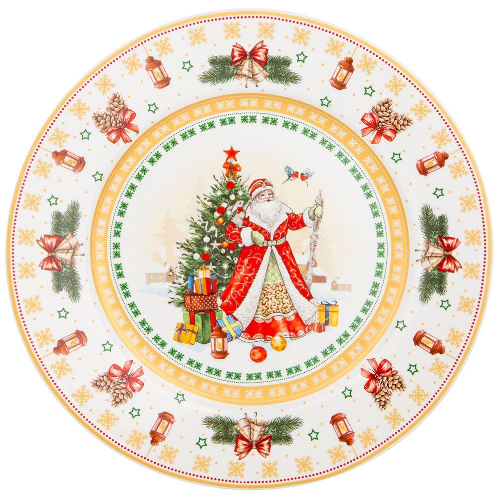 "ТАРЕЛКА ""CHRISTMAS COLLECTION"" ДИАМЕТР=21 СМ ВЫСОТА=1,6 СМ"