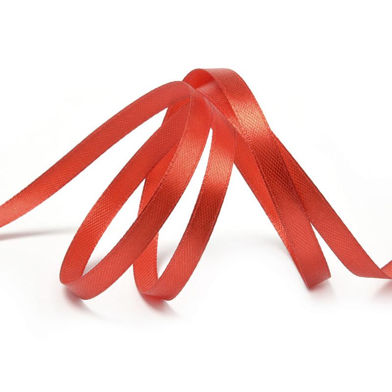 Лента атласная IDEAL цвет 3095 красный (ЛА.IDEAL-3095)