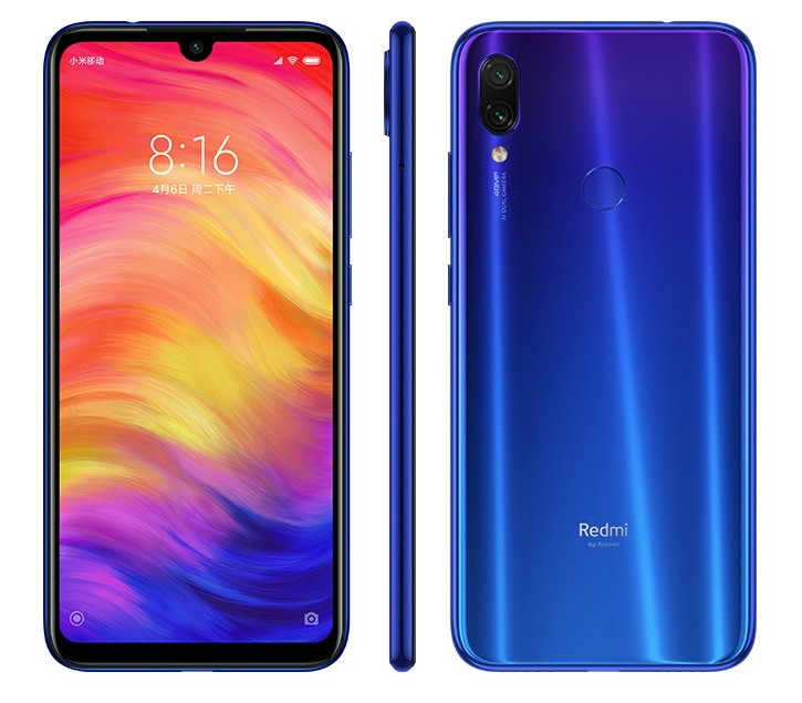 Смартфон Xiaomi Redmi Note 7 4/64GB Blue