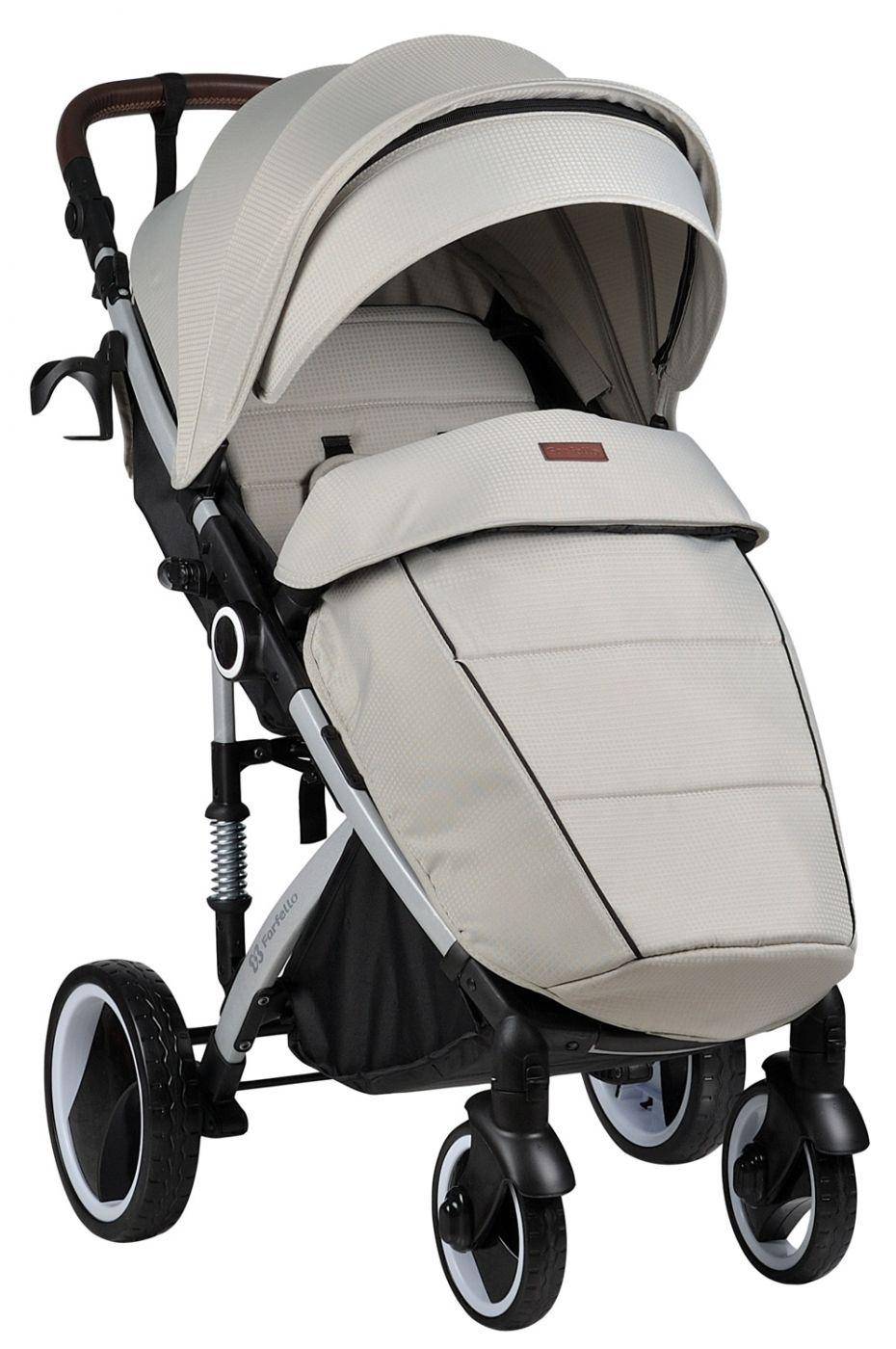 Прогулочная коляска Bino Angel Plus, steel gray / стальной серый - NEW