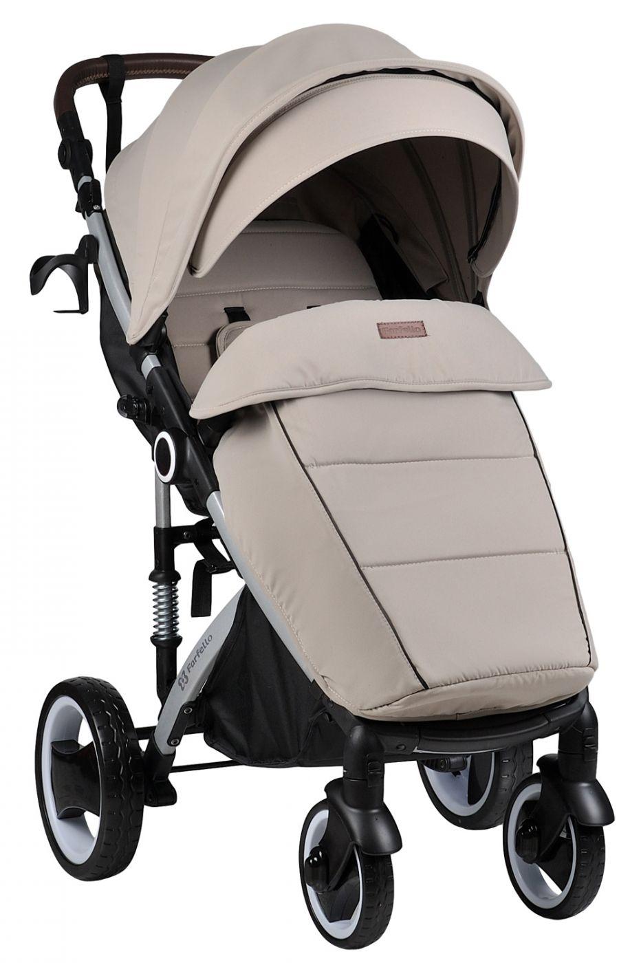 Прогулочная коляска Bino Angel Plus, beige / бежевый - NEW