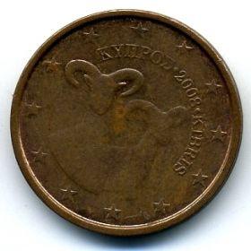 Кипр 2 евроцента 2008