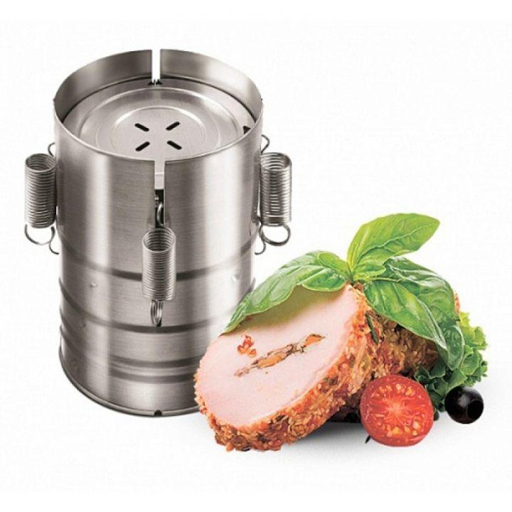 Ветчинница из нержавеющей стали - настоящий помощник на кухне для каждой хозяйки, поможет приготовить вкусные и полезные деликатесы в домашних условиях.