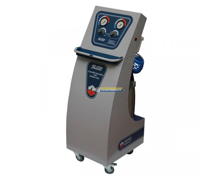 SL-025М пневмо-установка для промывки инжект. 2 конт. (бен/диз)