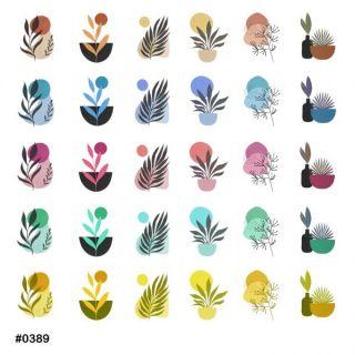 Слайдер-дизайн для ногтей № 0389