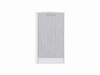 Шкаф нижний торцевой Валерия НТ300 в цвете серый металлик дождь