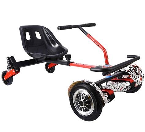 Ховеркарт-Гирокарт HoverKart FX-3 с пружинной подвеской и рулем управления