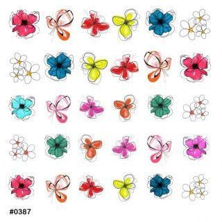 Слайдер-дизайн для ногтей № 0387