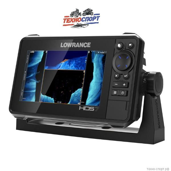 Эхолот Lowrance HDS-7 LIVE with Active Imaging 3-in-1 (ROW)