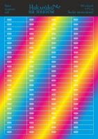 "Наклейки на типсы ""Яркий градиент"" Арт. nt 16 bright gradient 100  шт"