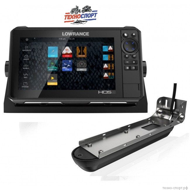 Эхолот Lowrance HDS-9 LIVE with Active Imaging 3-in-1 Transducer