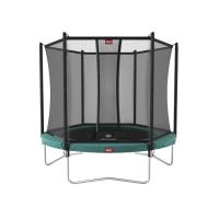 Батут BERG Favorit Regular 330 Green + Safety Net Comfort